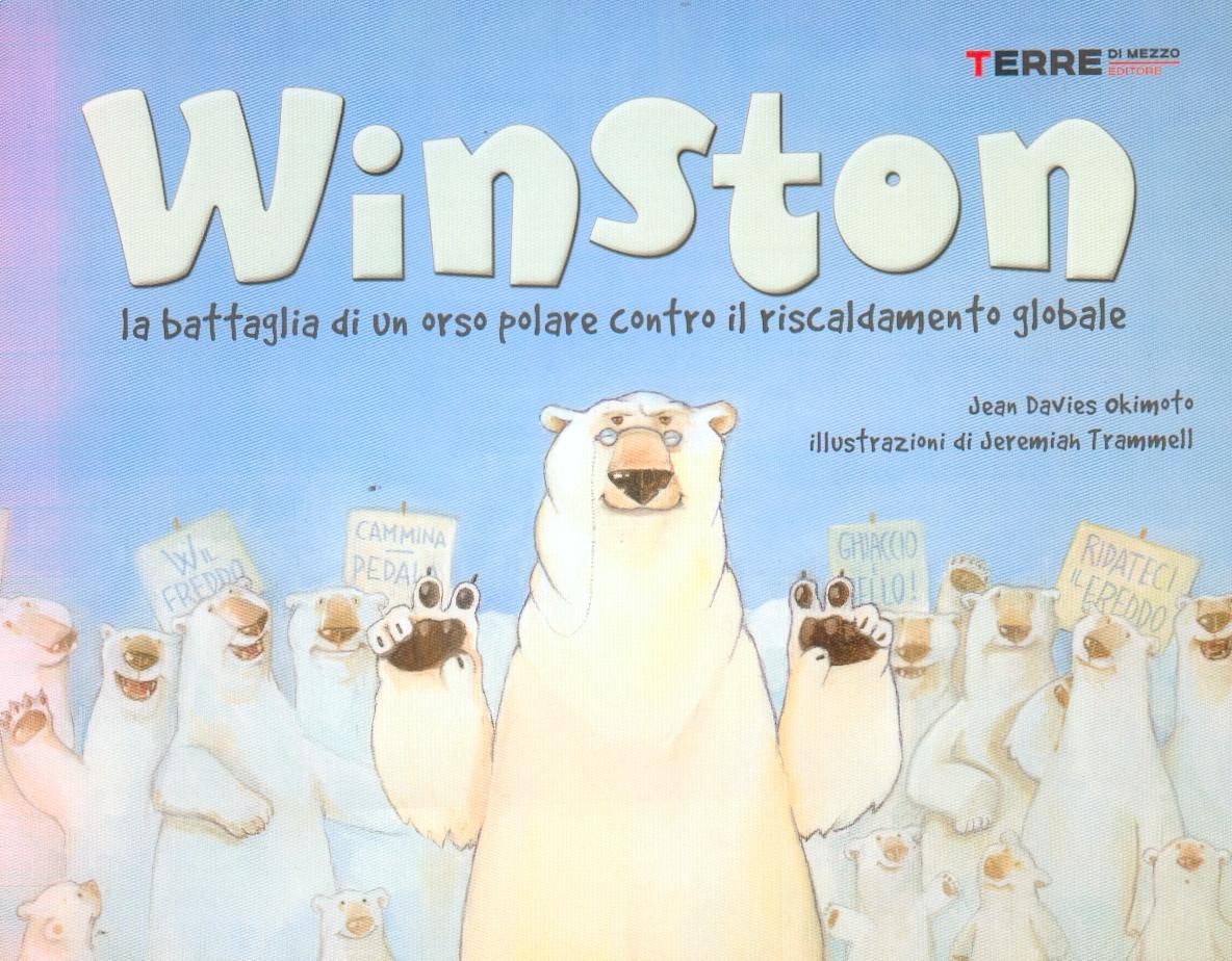 Winston, la battaglia di un orso polare