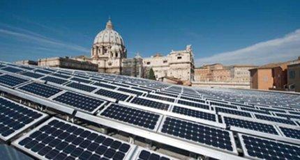 L'elettricita' arriverà dal fotovoltaico