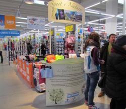 """Un corner shop per """"Sport e Natura"""""""
