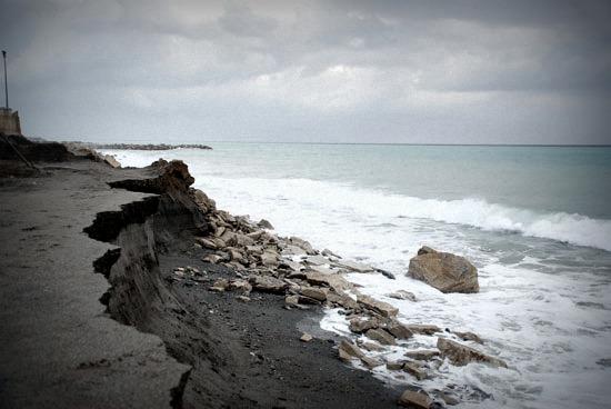L'erosione delle spiagge