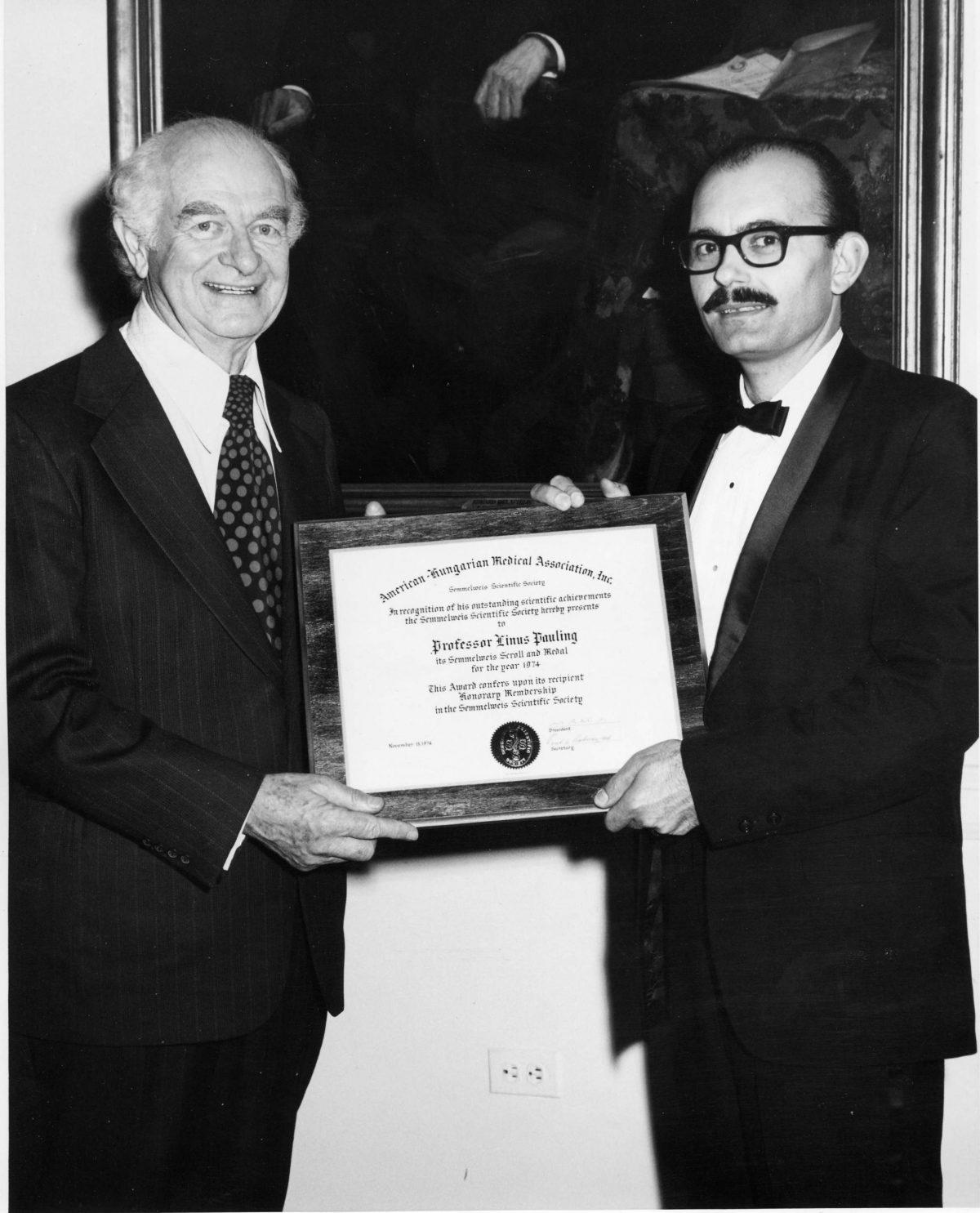 Etica e scienza: il due volte nobel Linus Pauling