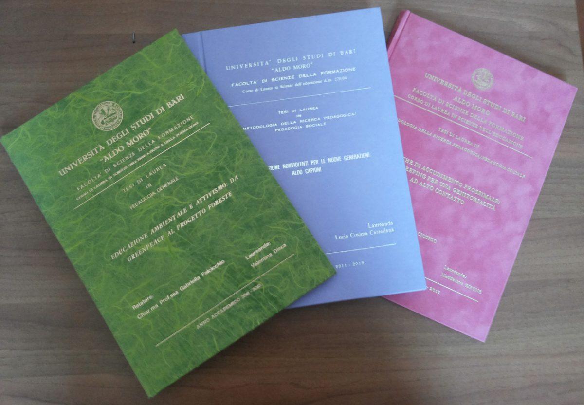 GreenLab propone la Tesi Ecologica