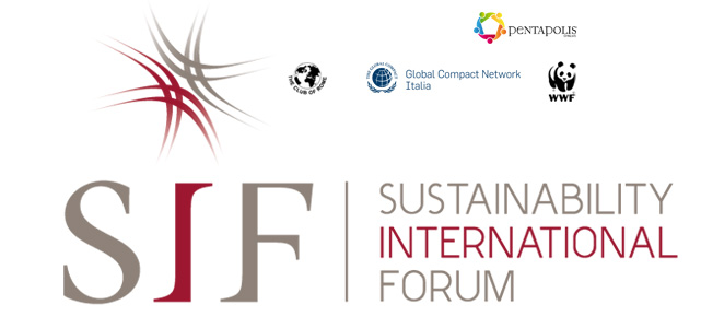 Sustainability International Forum (SIF) – Roma 20-21 novembre