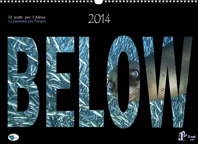 12 scatti Onlus e il nuovo Calendario Below 2016