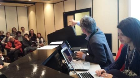 Roma rete WEEC Italia Tomaso Colombo modera i lavori