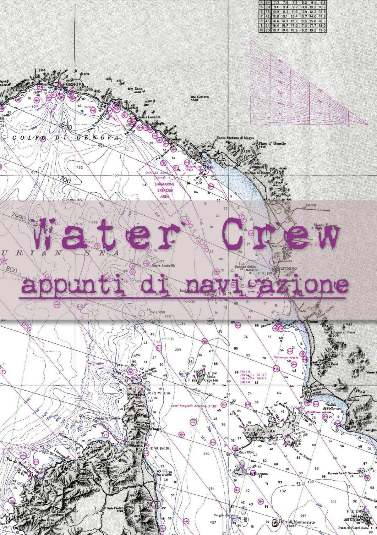 Water Crew, appunti di navigazione