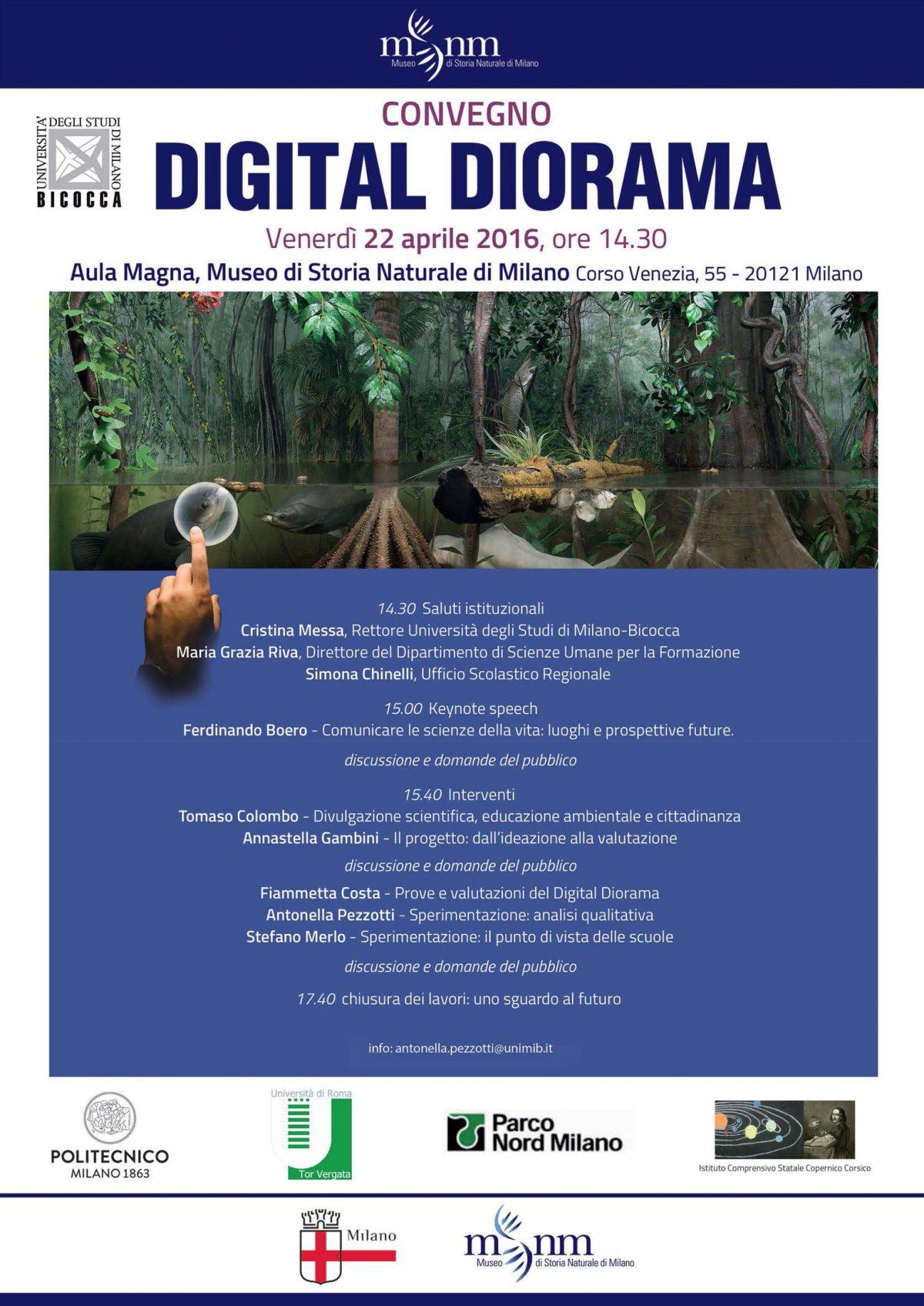 Digital Diorama: un viaggio interattivo negli ecosistemi