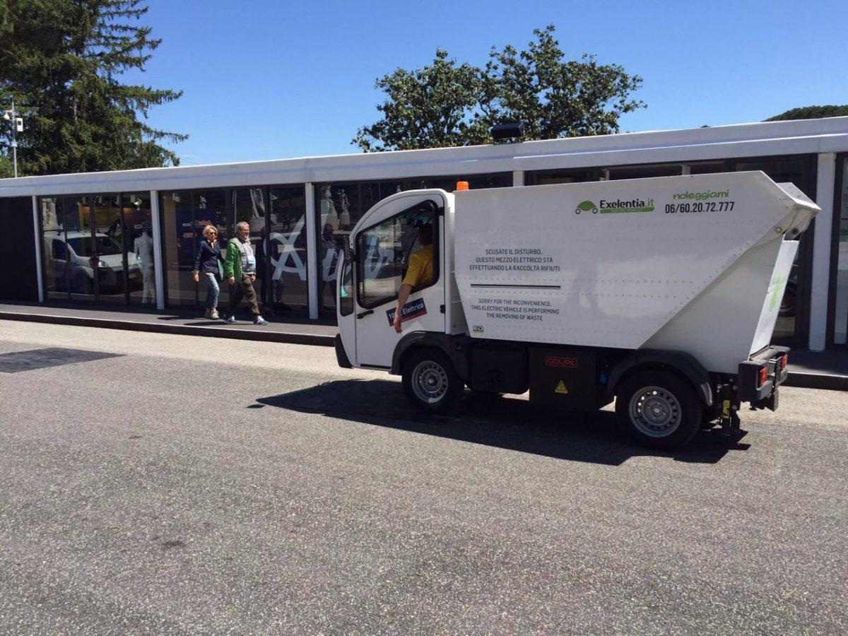 Internazionali BNL d'Italia, in campo la mobilità elettrica