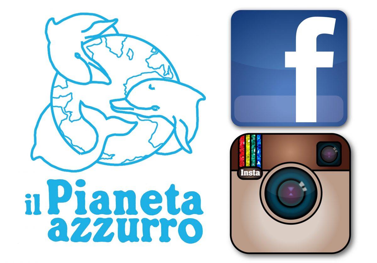 Pianeta azzurro raddoppia sui Social Network