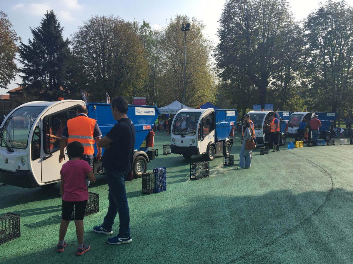 A Collegno la lotta all'abbandono dei rifiuti con mezzi elettrici