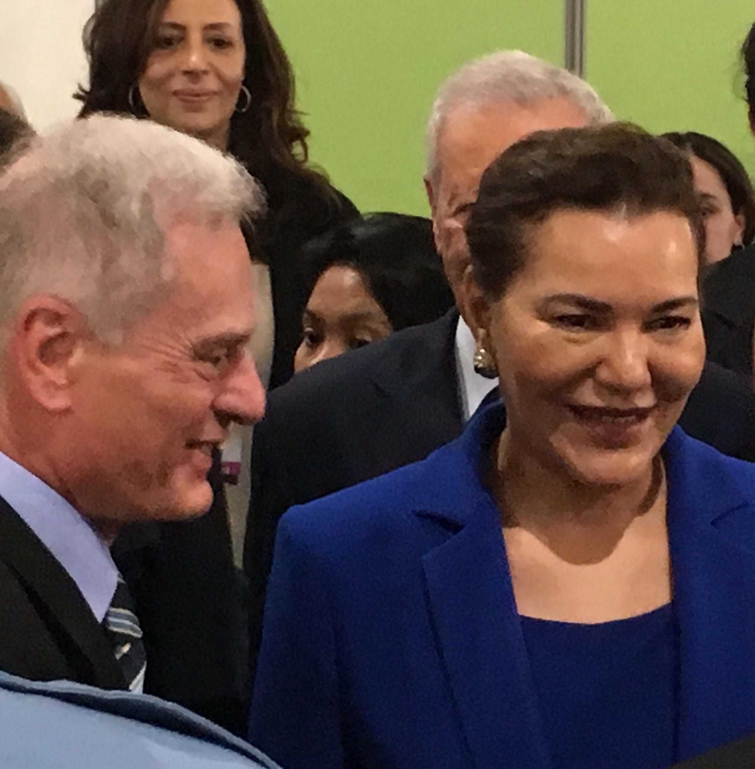 20161114 COP22 Mario Salomone and Princess Lalla Hasnaa 3