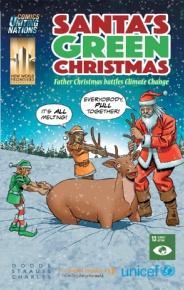 Babbo Natale contro il cambiamento climatico