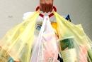 Addio sacchetti di plastica