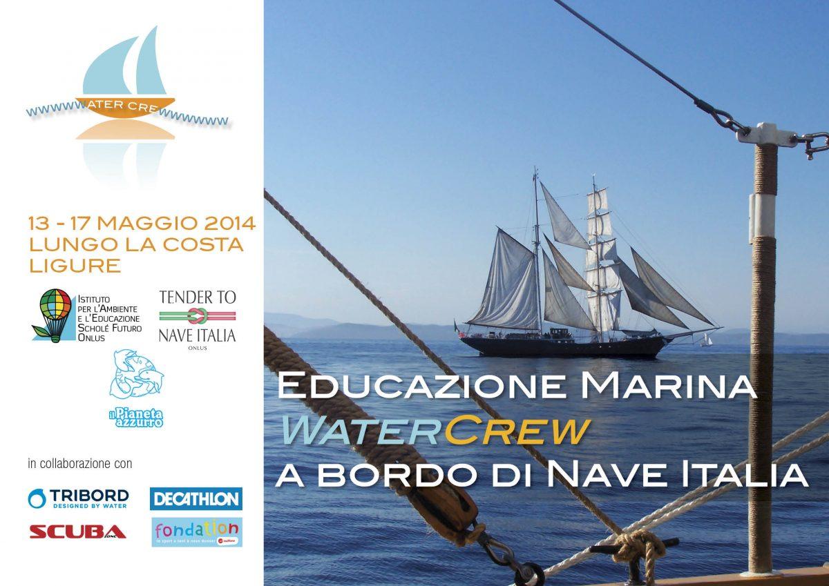 Educazione Marina WaterCrew  a bordo di Nave Italia
