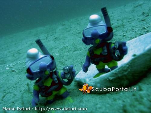 """Quando la subacquea diventa """"un gioco"""""""