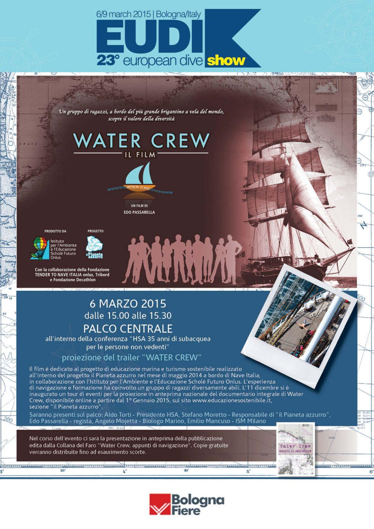 Water Crew approda anche alla fiera della subacquea