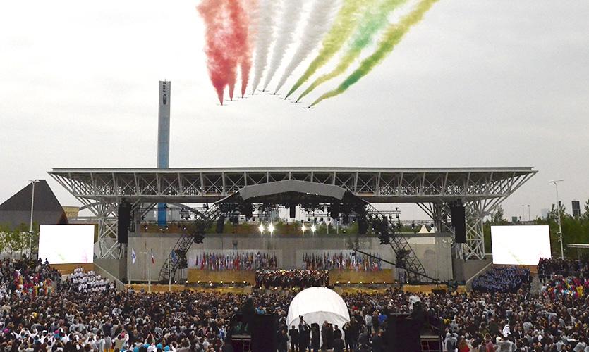 """Inaugurata a Milano Expo 2015 """"Nutriamo il Pianeta"""""""