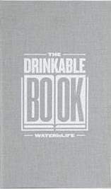 Drinkablebook – Il libro che depura l'acqua.