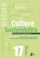 Culture della Sostenibilità 17 – 2016